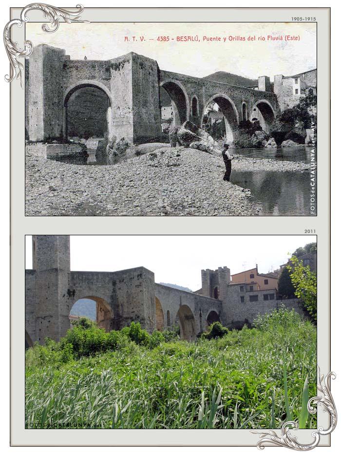 Besalú. Pont fortificat  Fotos de Catalunya